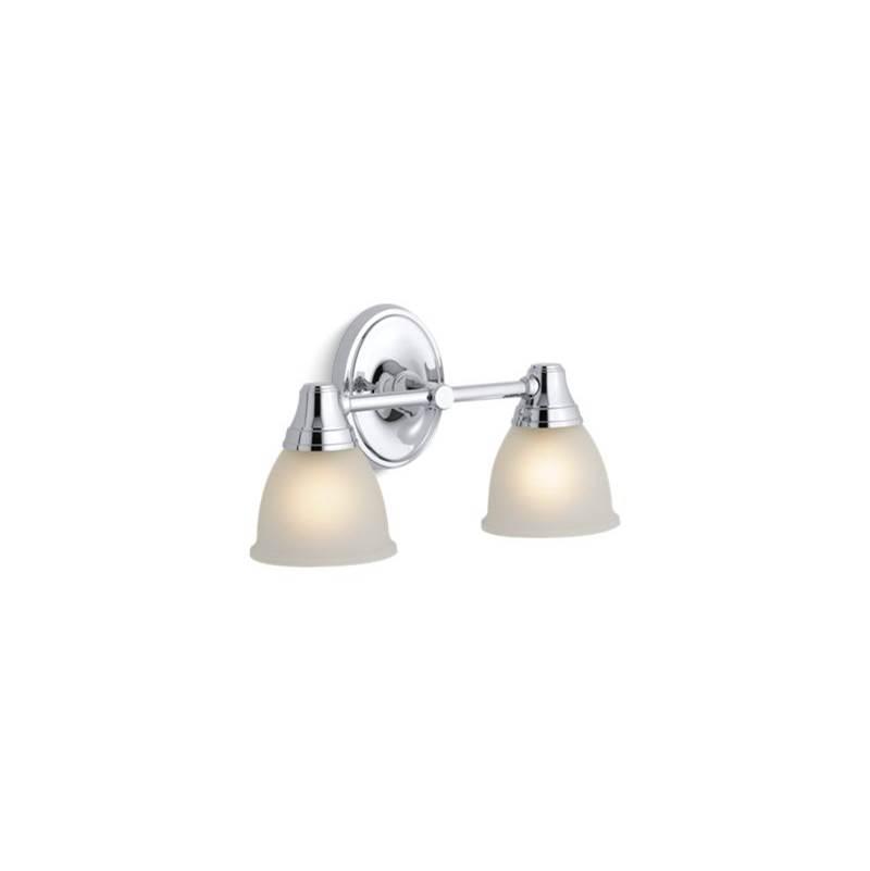 Kohler Bathroom Lights Two Light Vanity   Kitchens and Baths by ...