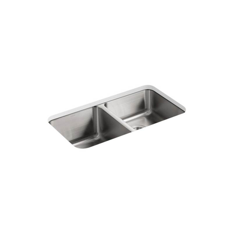 Kohler Undermount Kitchen Sinks item 3351-NA