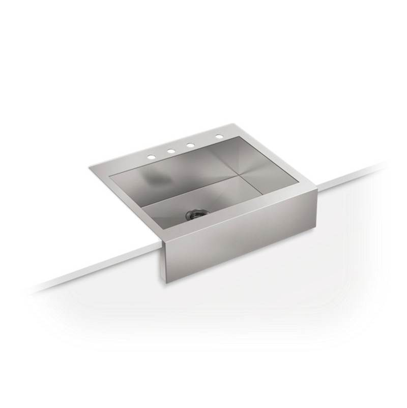 Kohler Drop In Kitchen Sinks item 3935-4-NA