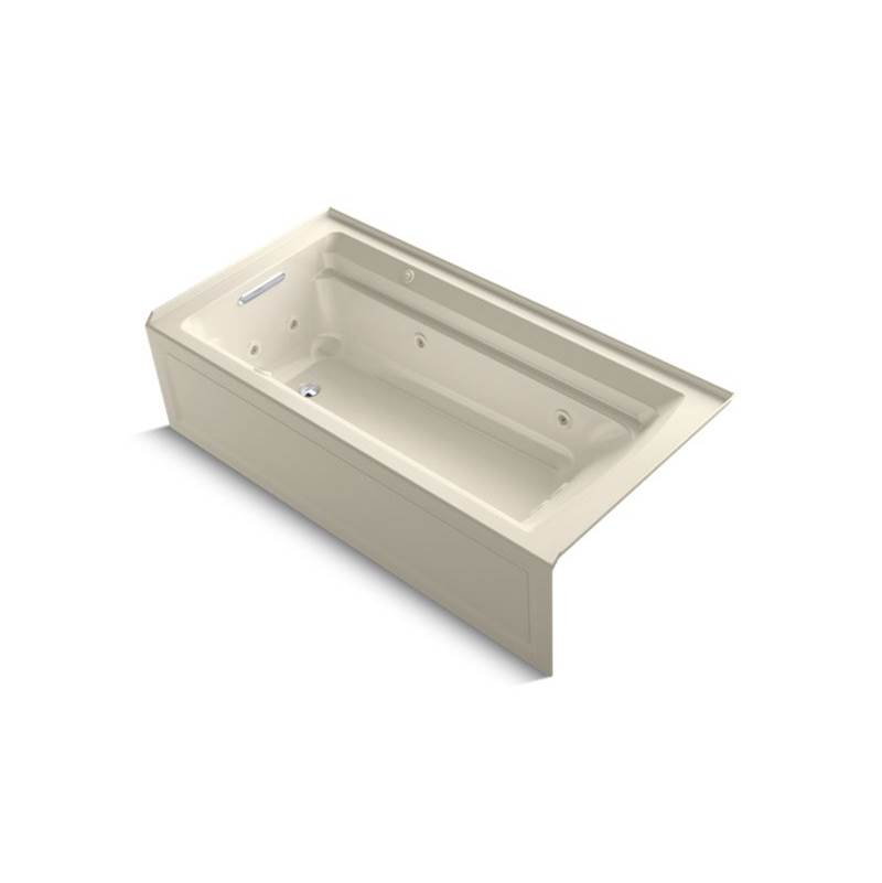 Kohler Three Wall Alcove Whirlpool Bathtubs item 1124-XHGLA-47