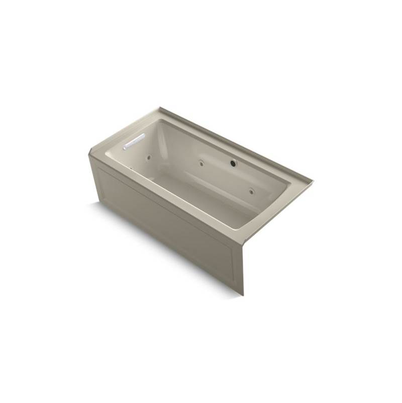 Kohler Three Wall Alcove Whirlpool Bathtubs item 1947-LAW-G9