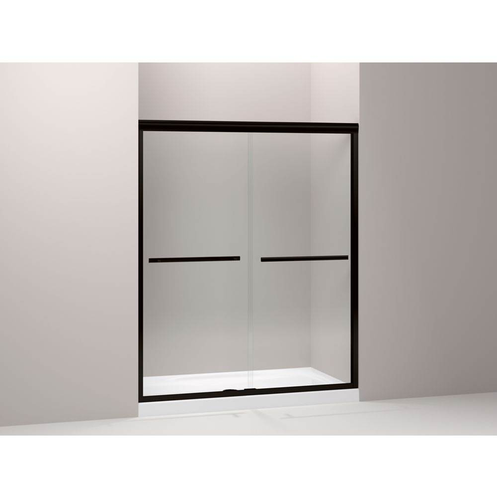 Showers Shower Doors Sliding Bronze Tones Kitchens And Baths By