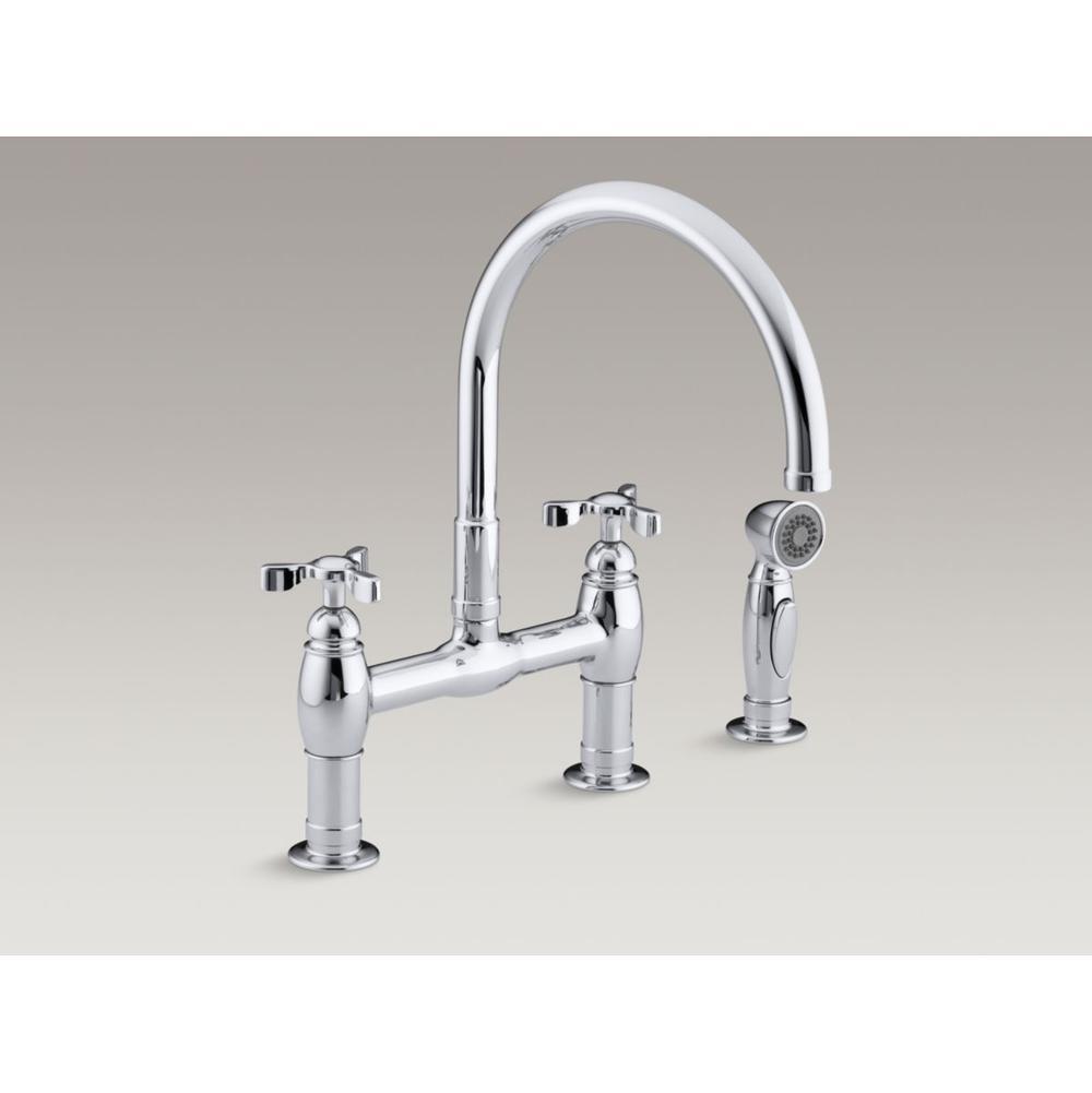 Kohler Bridge Kitchen Faucets Item 6131 3 2BZ