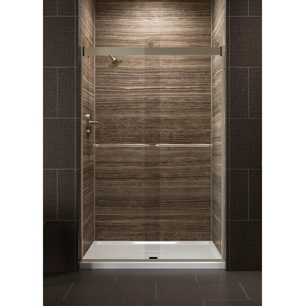 Kohler Shower Doors Levity Bronze Tones Kitchens And Baths