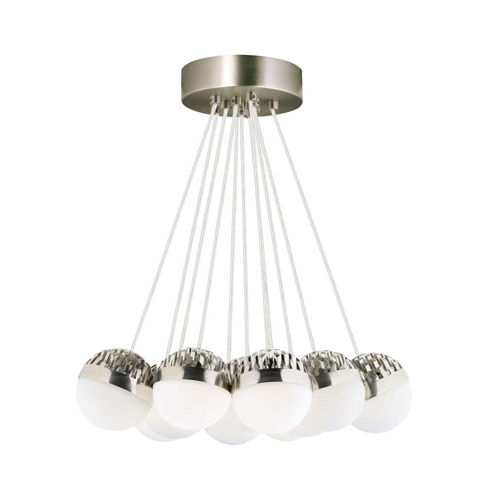LBL Lighting Single Tier Chandeliers item LP84911SCFRLED930