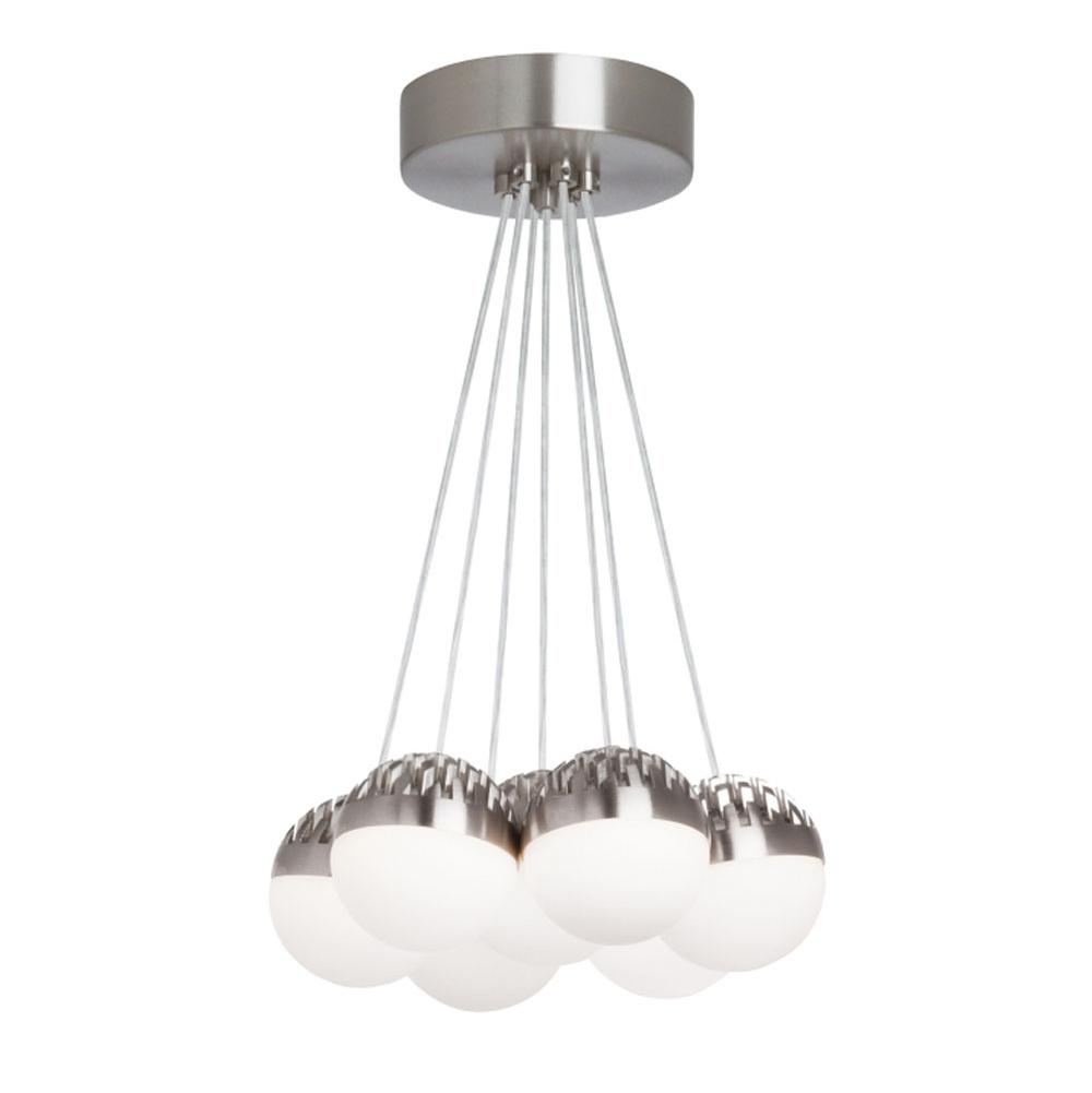 LBL Lighting Single Tier Chandeliers item LP84907SCSMLEDWD