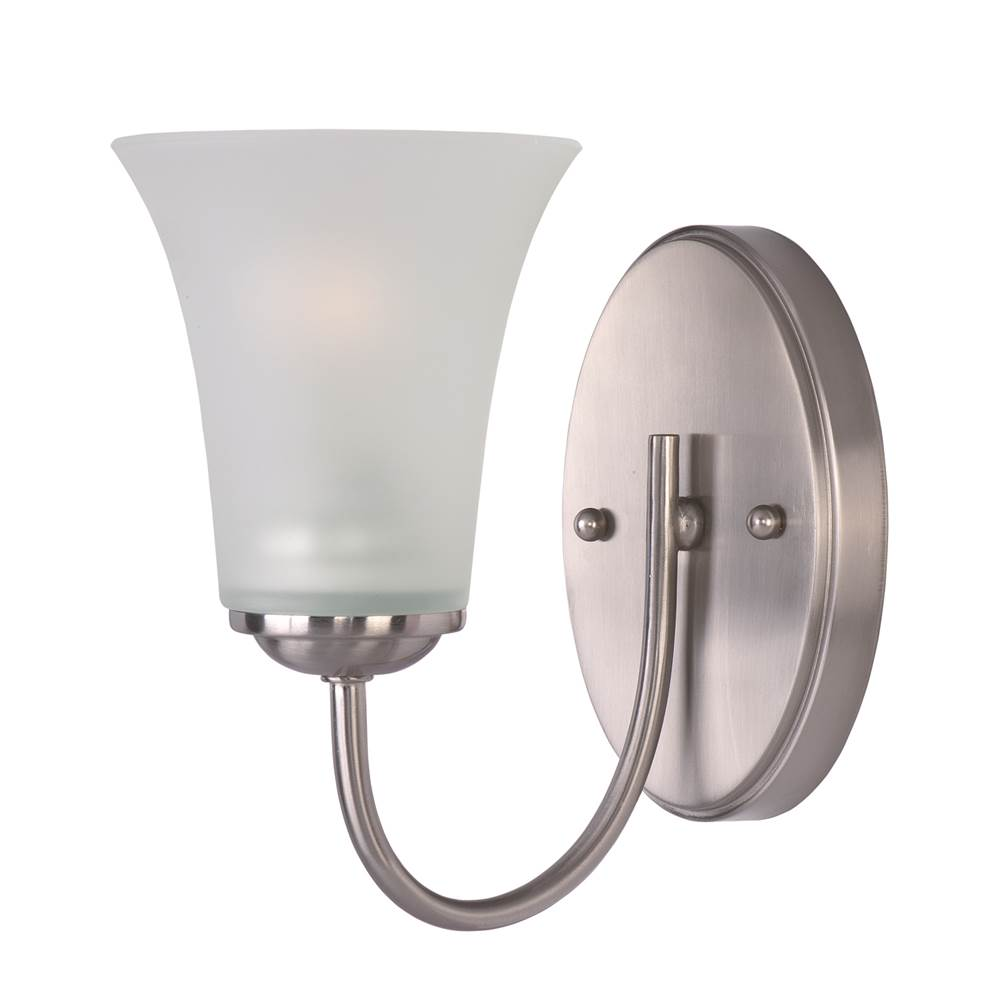 Maxim Lighting One Light Vanity Bathroom Lights item 10051FTSN