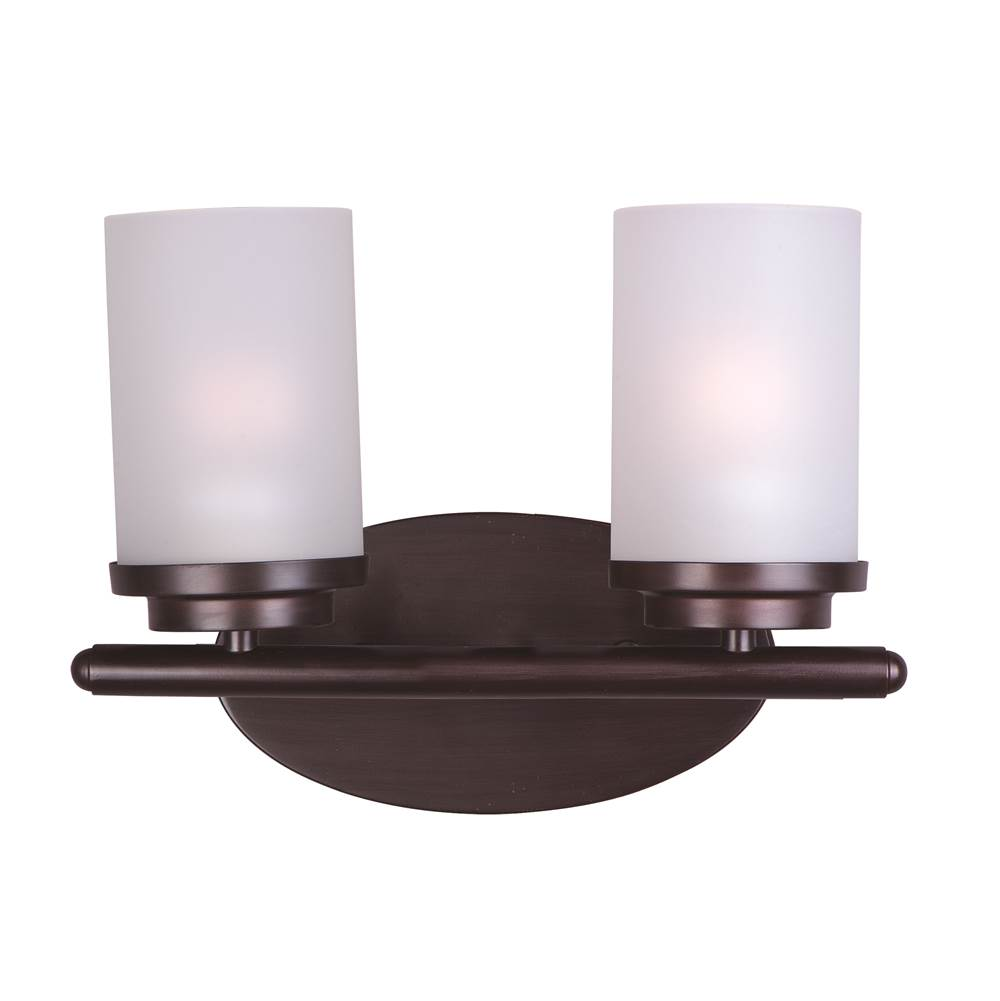 Maxim Lighting Two Light Vanity Bathroom Lights item 10212FTOI