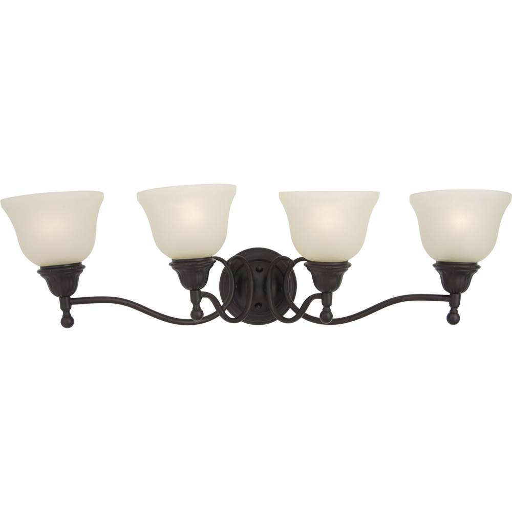 Maxim Lighting Four Light Vanity Bathroom Lights item 11059SVOI