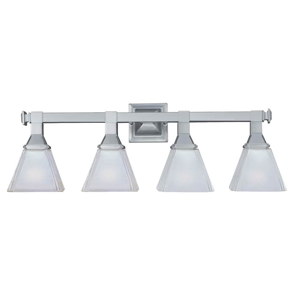 Maxim Lighting Four Light Vanity Bathroom Lights item 11079FTSN