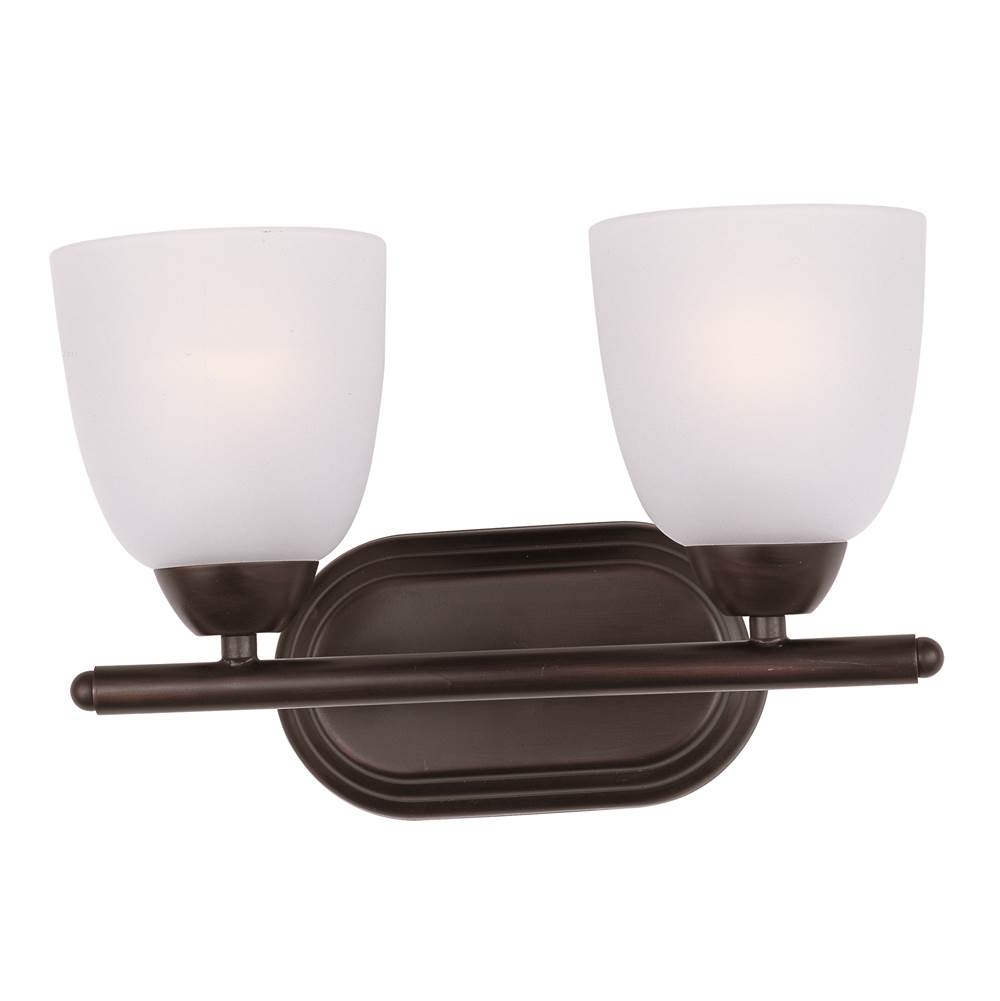 Maxim Lighting Two Light Vanity Bathroom Lights item 11312FTOI