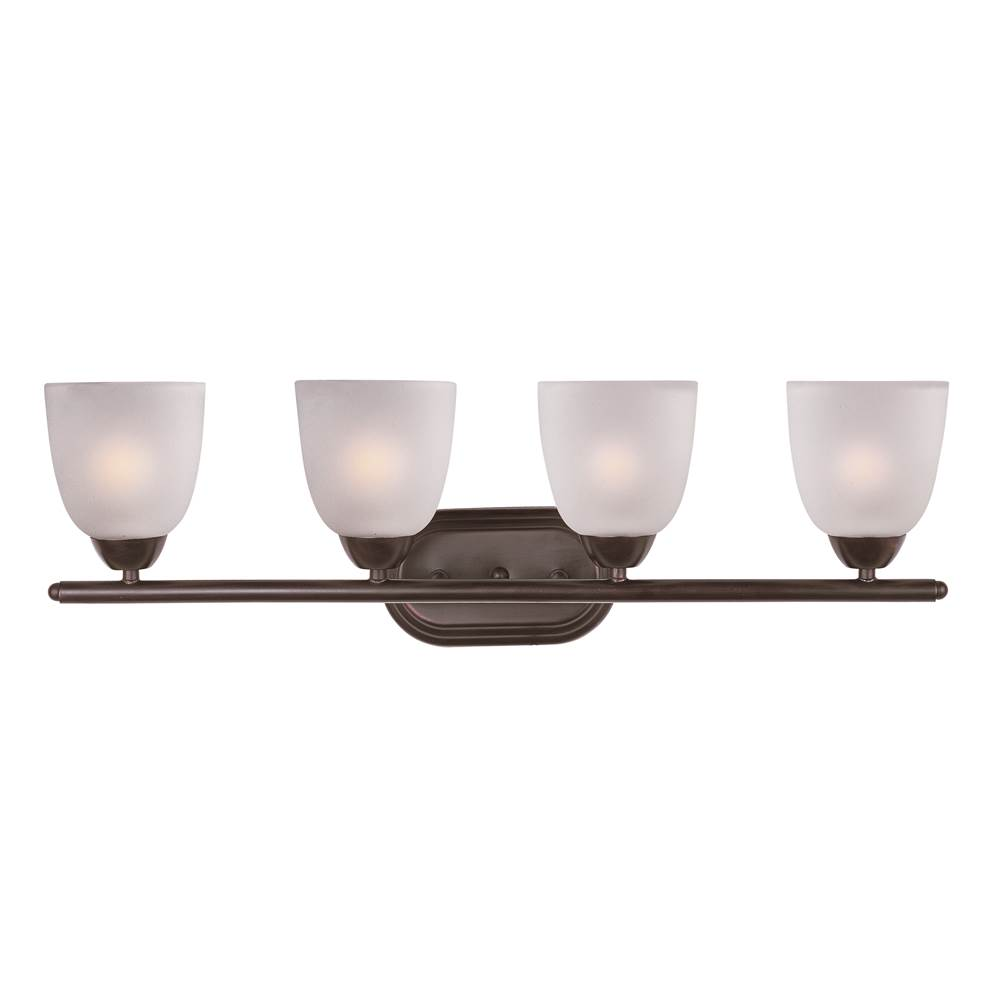 Maxim Lighting Four Light Vanity Bathroom Lights item 11314FTOI