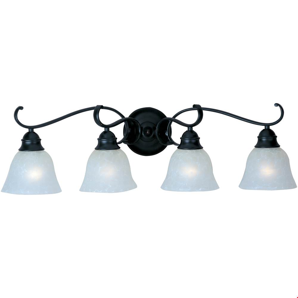 Maxim Lighting Four Light Vanity Bathroom Lights item 11811ICBK