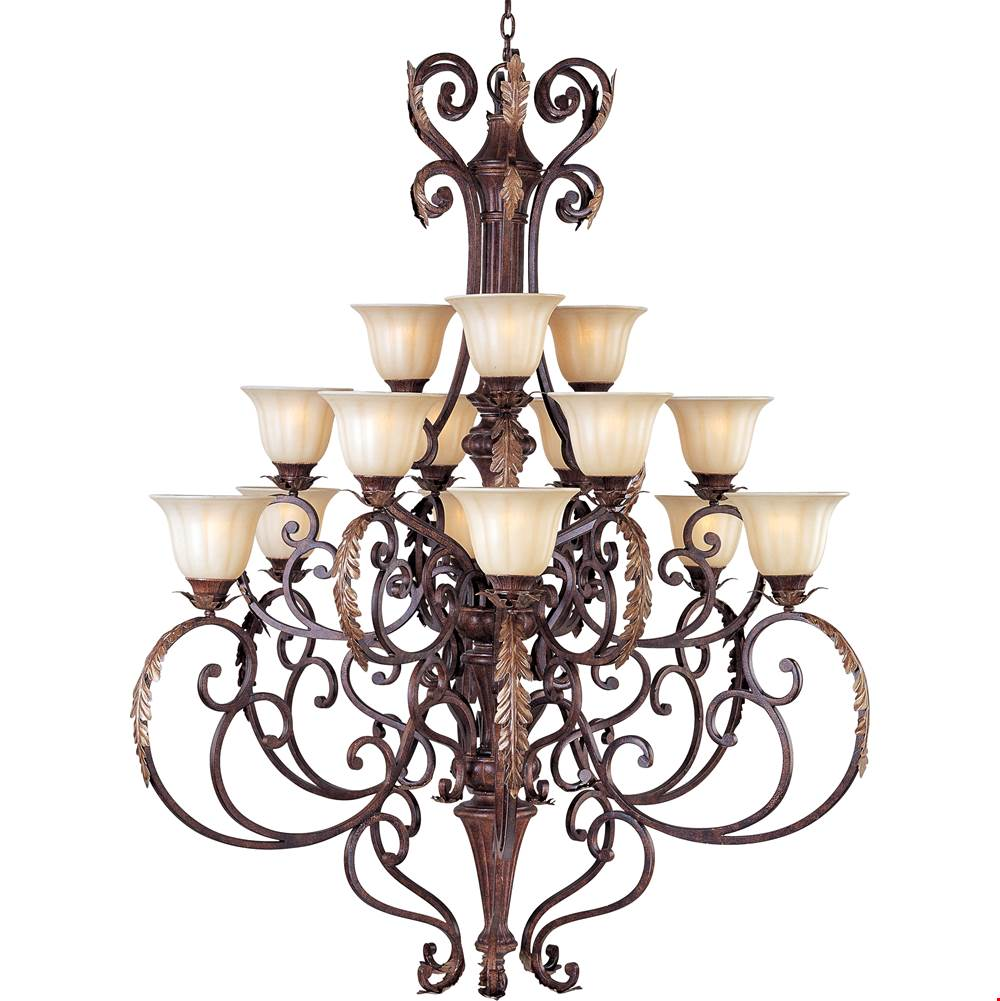 Maxim Lighting Multi Tier Chandeliers item 13567CFAF/CRY081