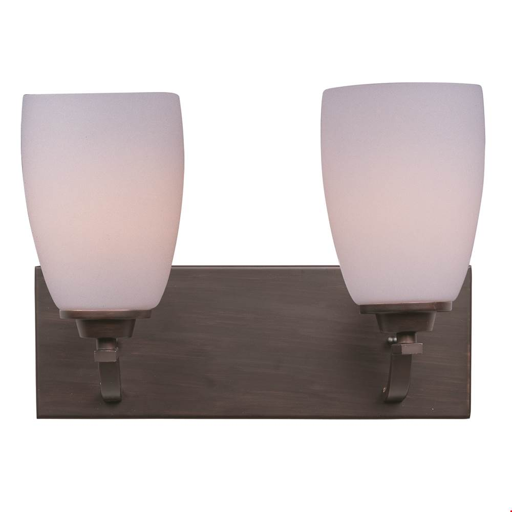 Maxim Lighting Two Light Vanity Bathroom Lights item 20027SWOI