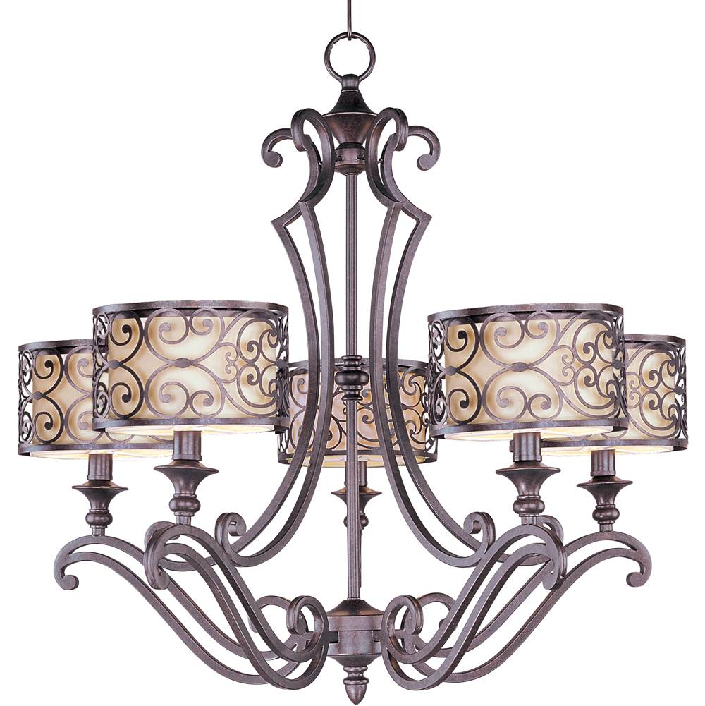 Maxim Lighting Single Tier Chandeliers item 21155WHUB