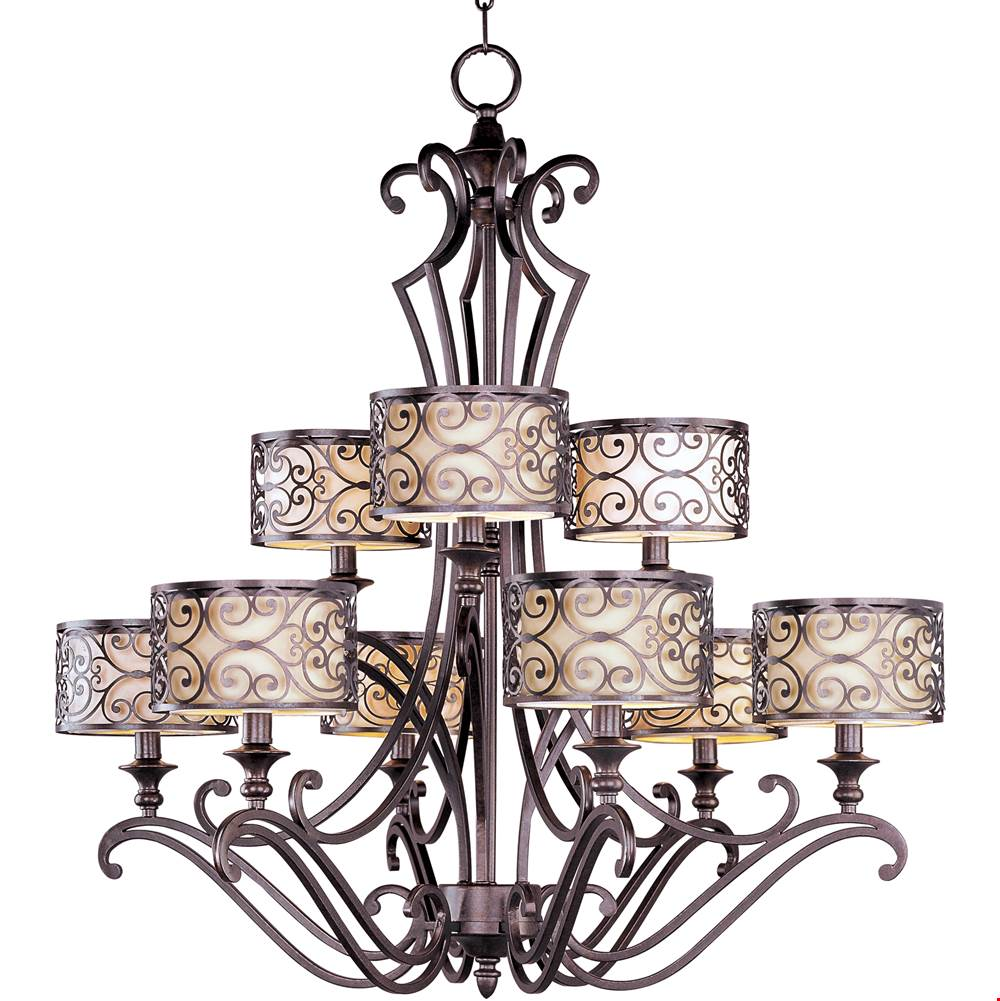 Maxim Lighting Multi Tier Chandeliers item 21156WHUB