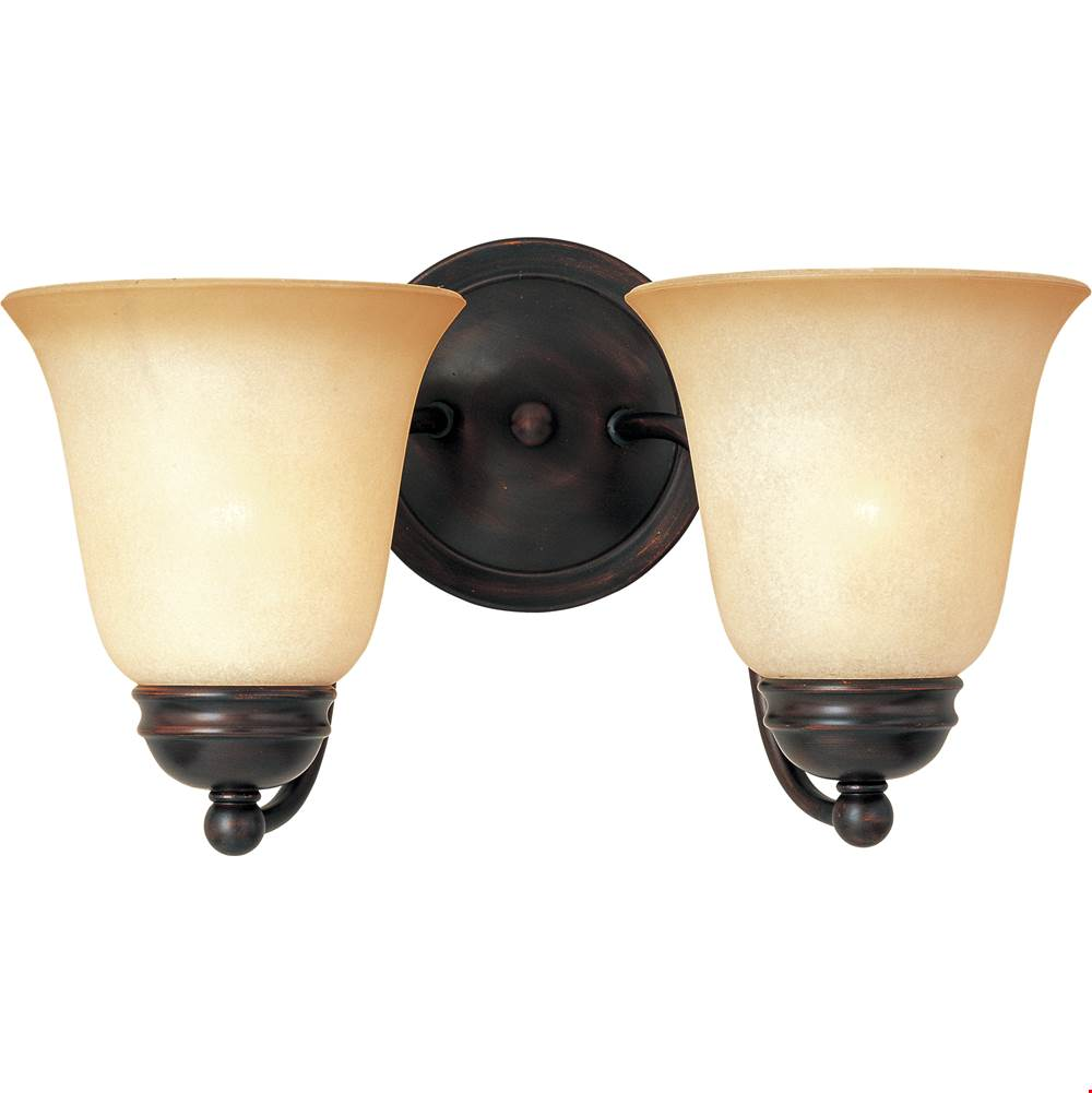 Maxim Lighting Two Light Vanity Bathroom Lights item 2121WSOI