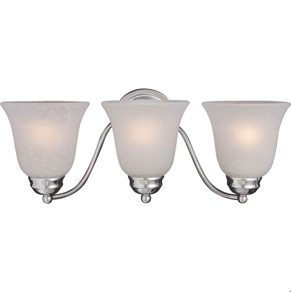 Maxim Lighting Three Light Vanity Bathroom Lights item 2122ICPC
