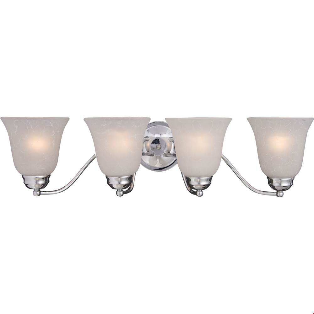 Maxim Lighting Four Light Vanity Bathroom Lights item 2123ICPC