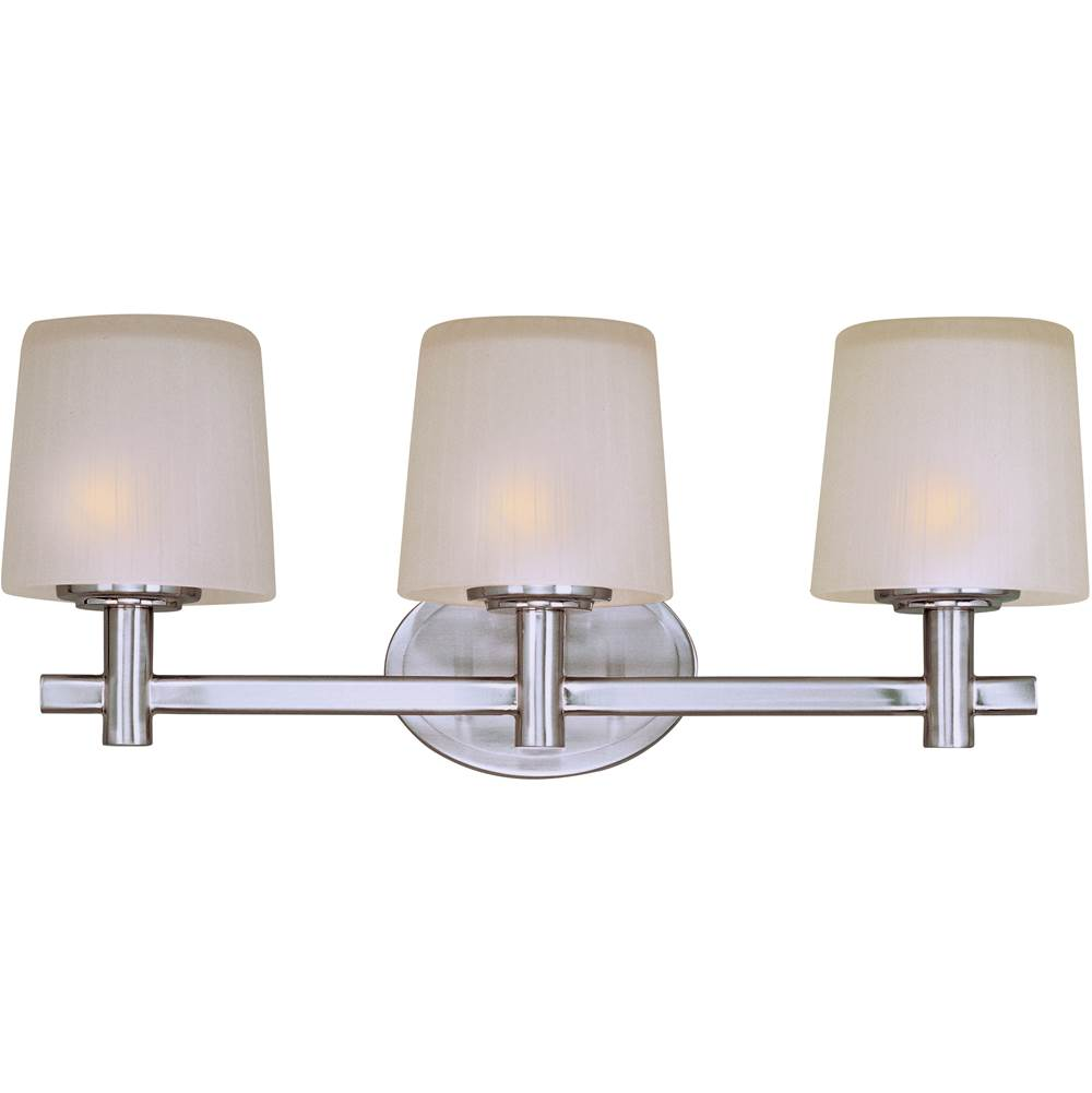 Maxim Lighting Three Light Vanity Bathroom Lights item 21513FTSN