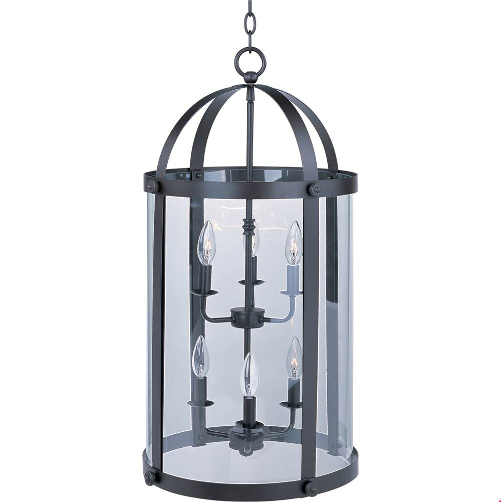 Maxim Lighting Cage Pendants Pendant Lighting item 21554CLBZ