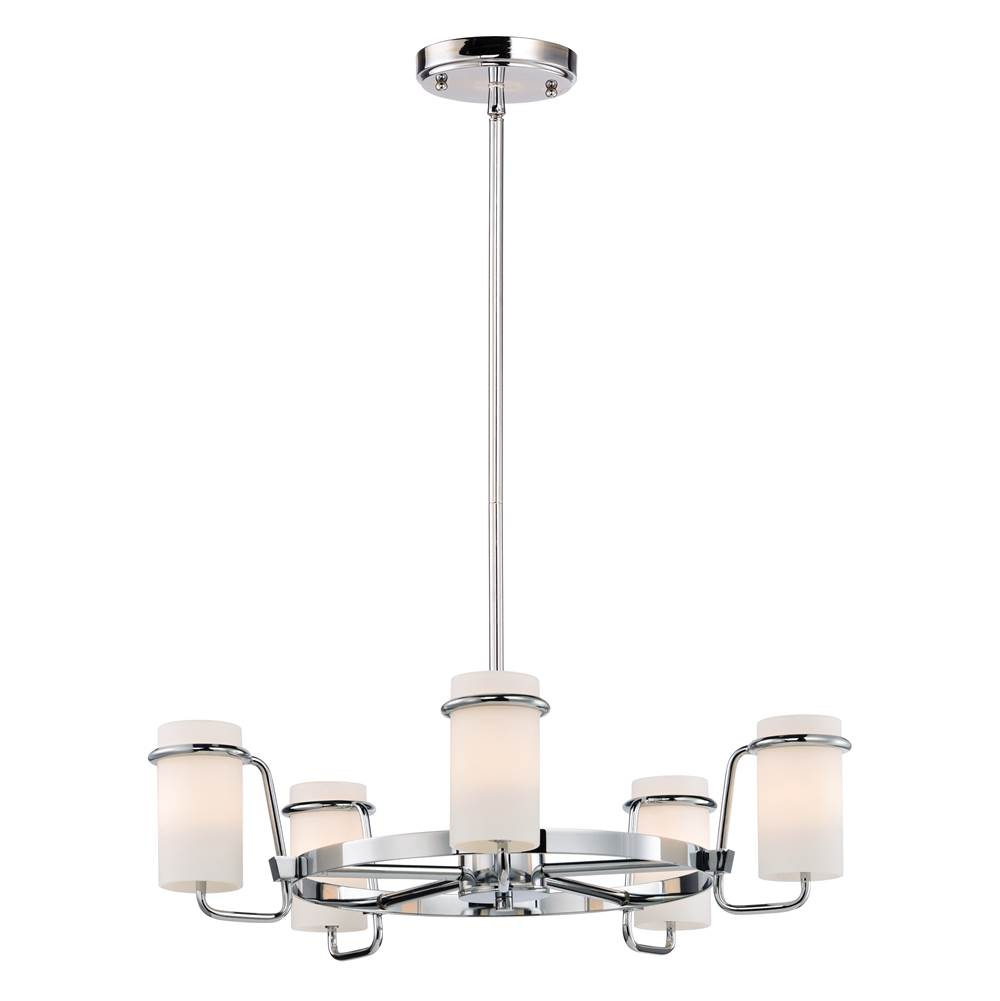 Maxim Lighting Single Tier Chandeliers item 22027SWPC