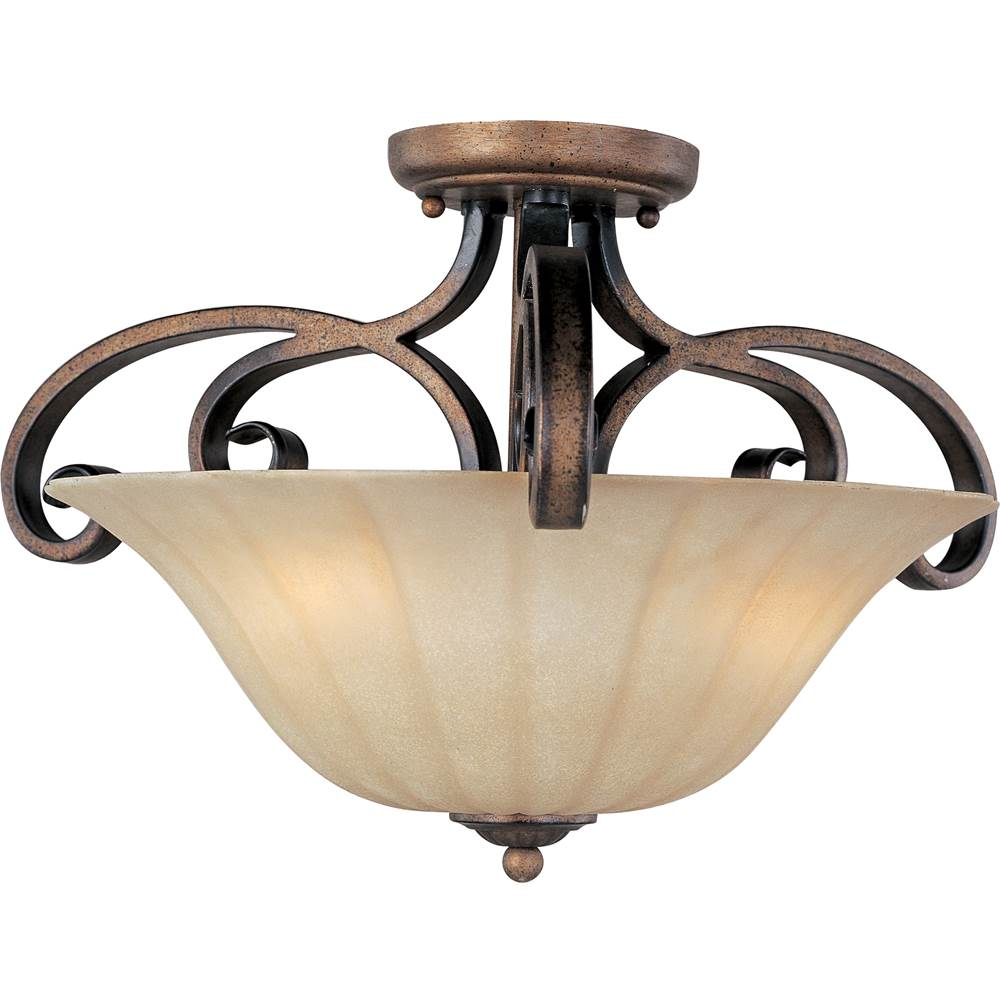 Maxim Lighting Semi Flush Ceiling Lights item 22241WSPD