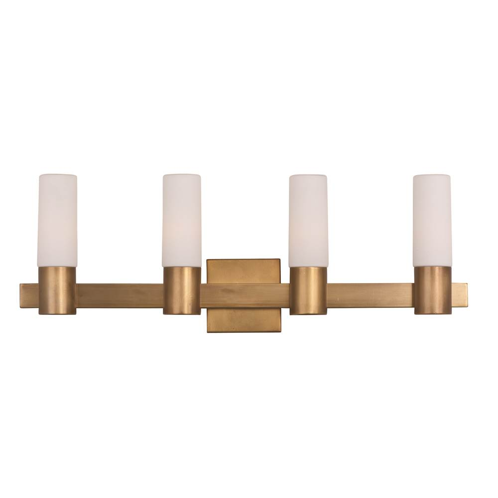 Maxim Lighting Four Light Vanity Bathroom Lights item 22414SWNAB