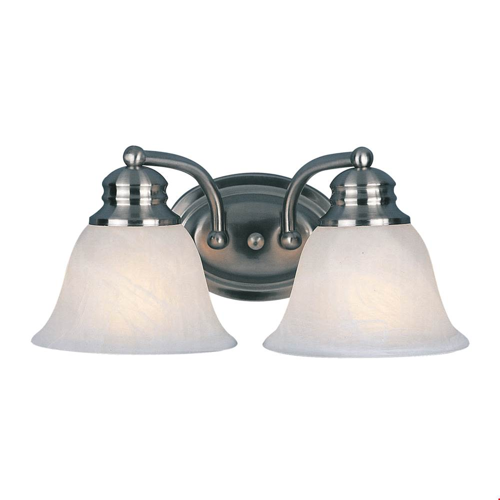 Maxim Lighting Two Light Vanity Bathroom Lights item 2687FTSN