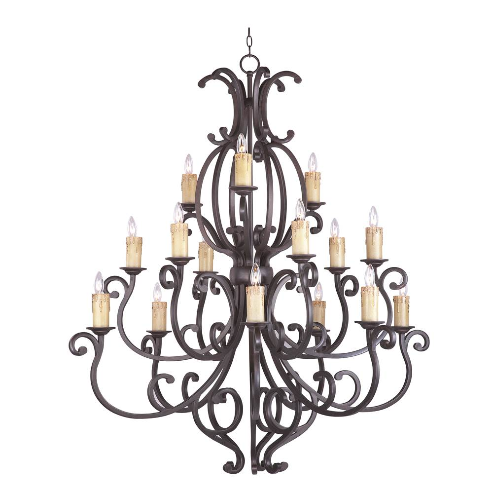 Maxim Lighting Multi Tier Chandeliers item 31007CU/CRY095