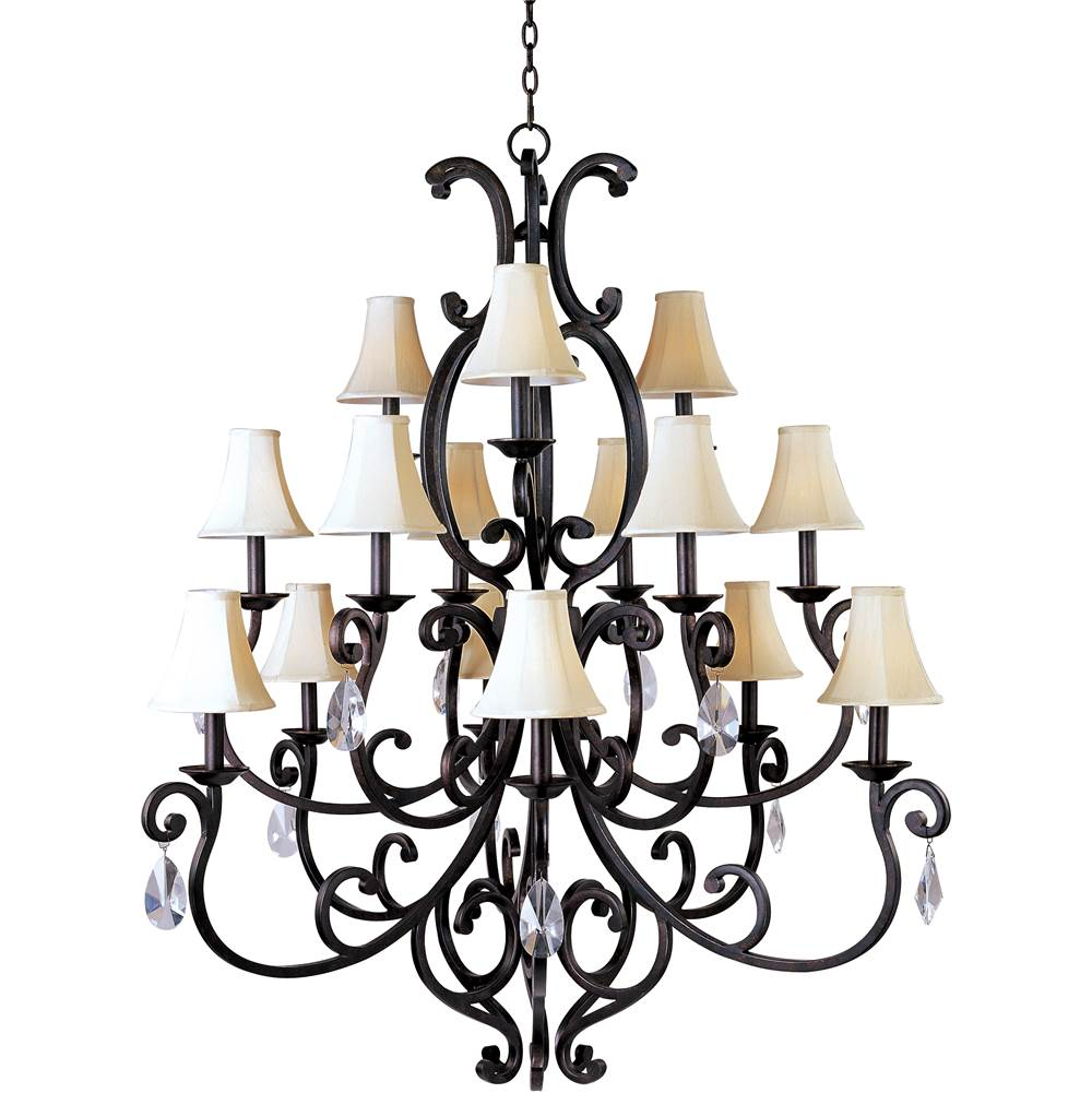 Maxim Lighting Multi Tier Chandeliers item 31007CU/SHD62