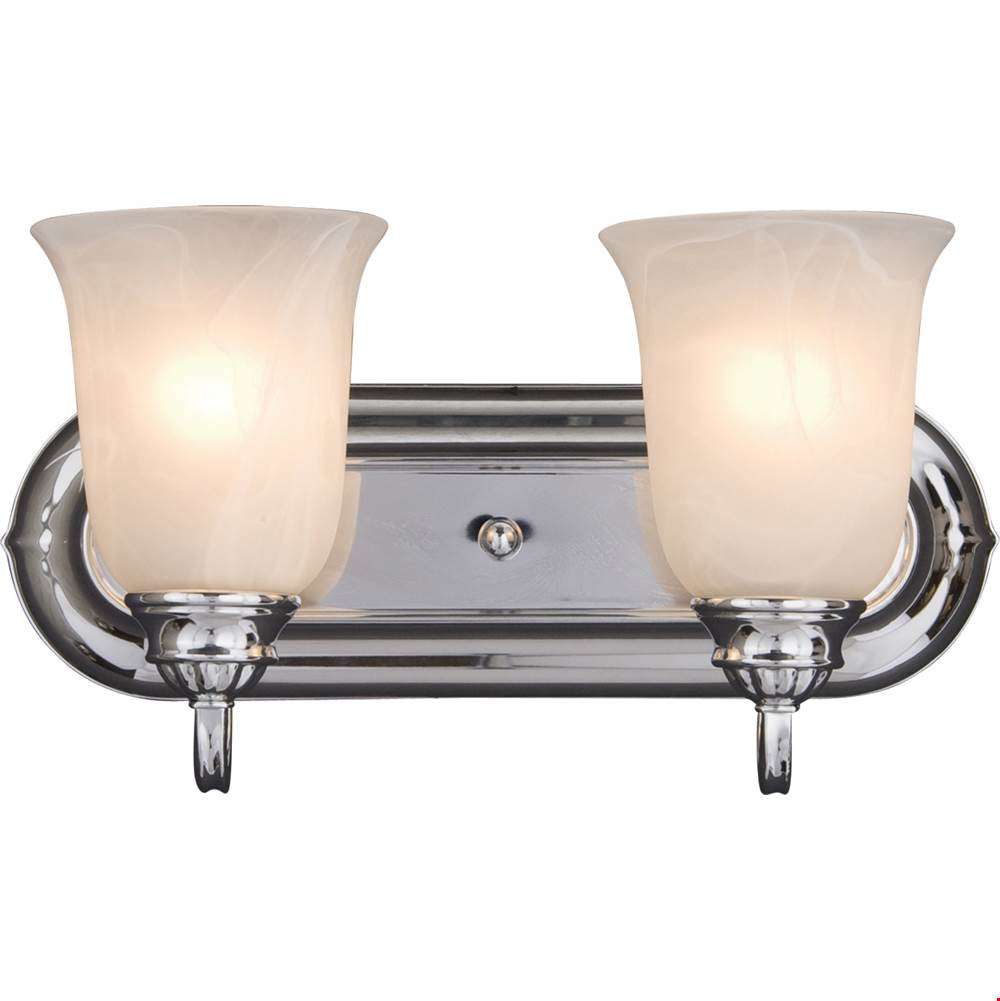 Maxim Lighting Two Light Vanity Bathroom Lights item 7136MRPC