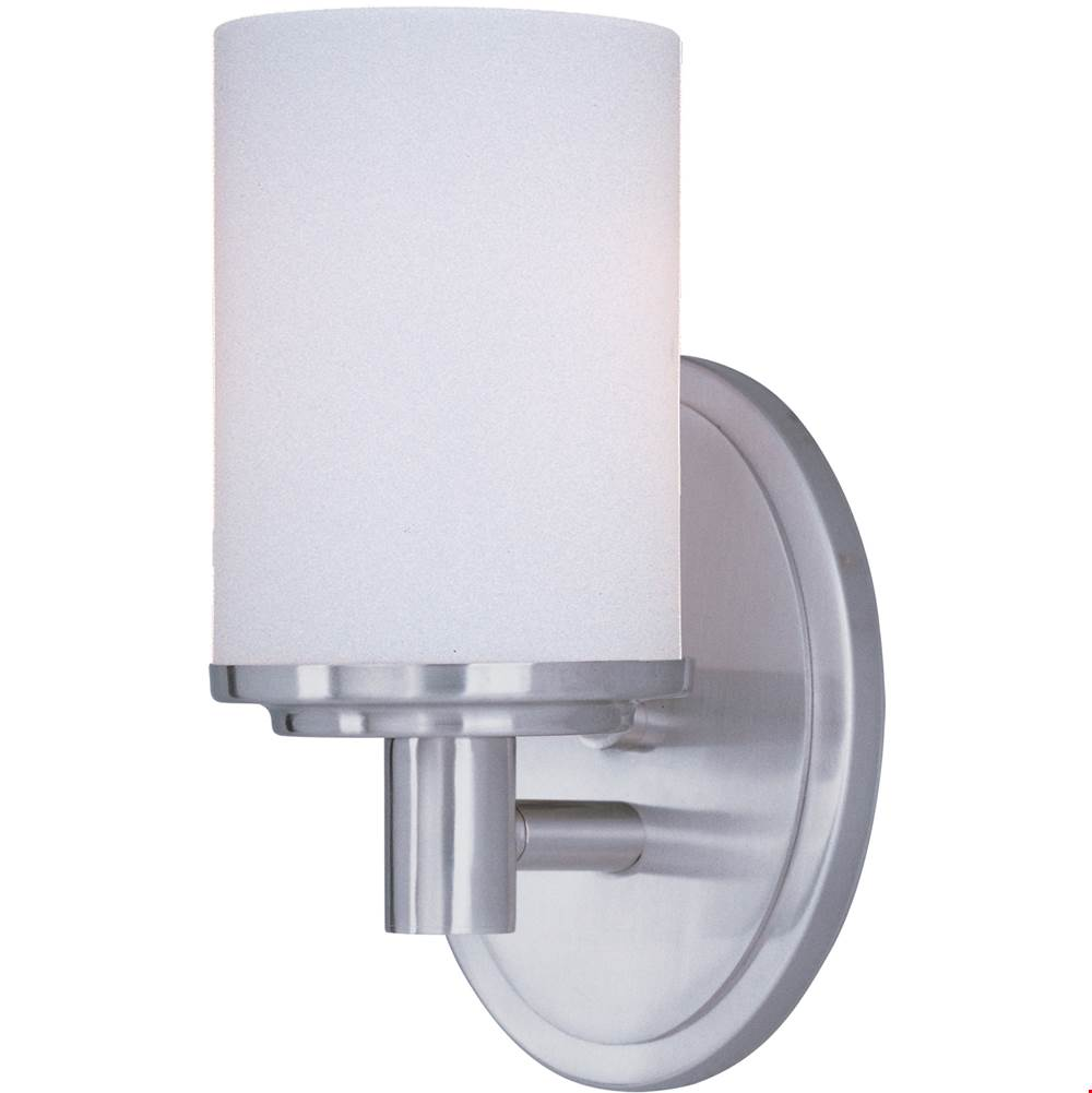 Maxim Lighting One Light Vanity Bathroom Lights item 9051SWSN