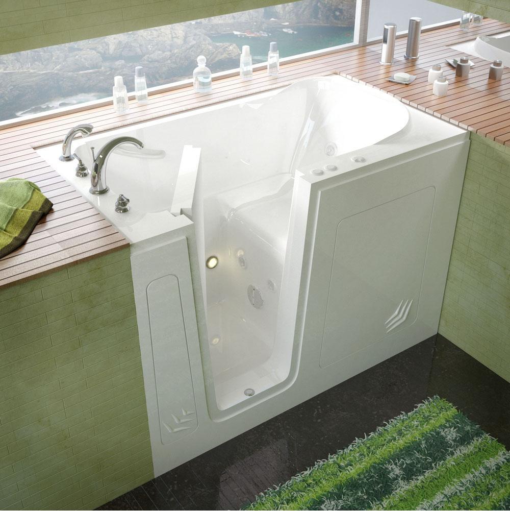 Meditub Walk In Whirlpool Bathtubs Item 3054LWH