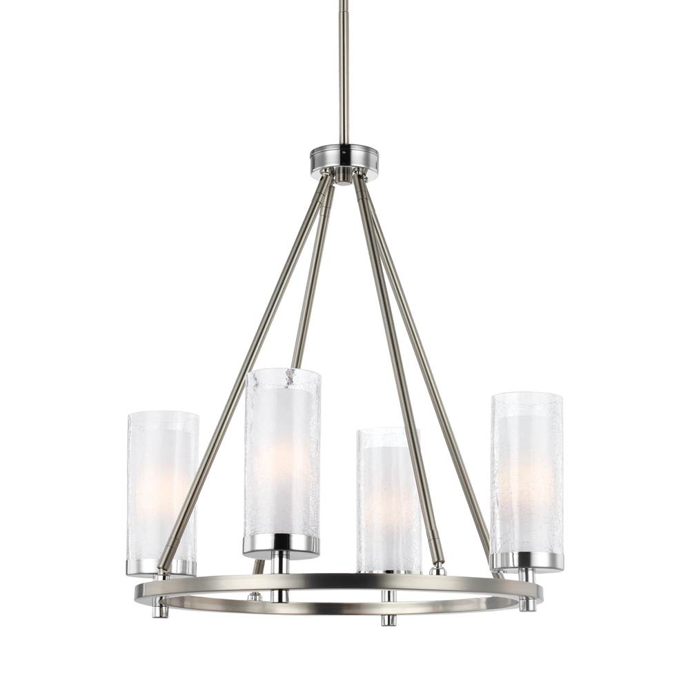 Feiss Lighting Single Tier Chandeliers item F2984/4SN/CH