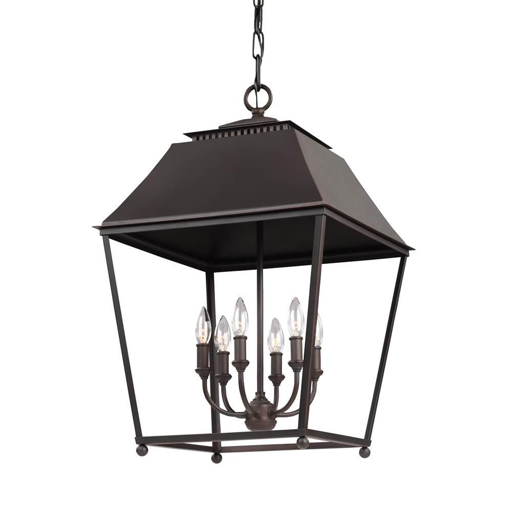 Feiss Lighting Cage Pendants Pendant Lighting item F3090/6DAC/AC