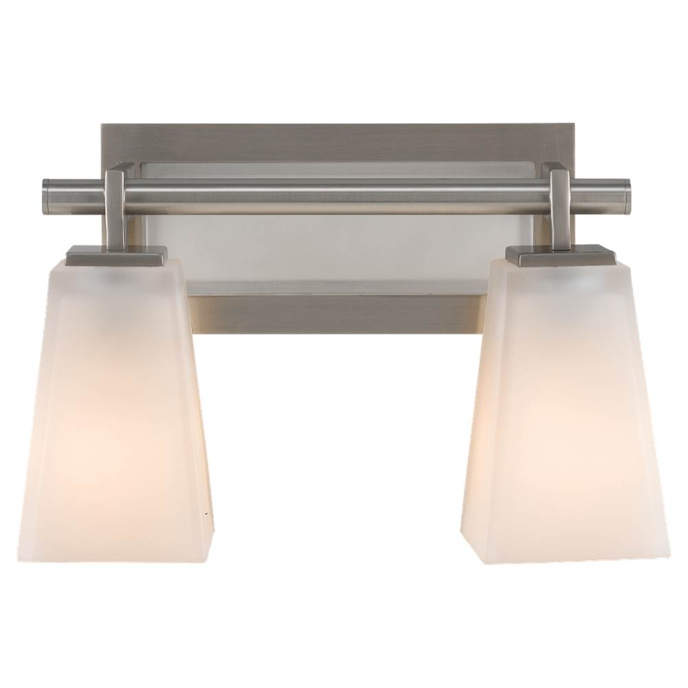 Feiss Lighting Two Light Vanity Bathroom Lights item VS16602-BS