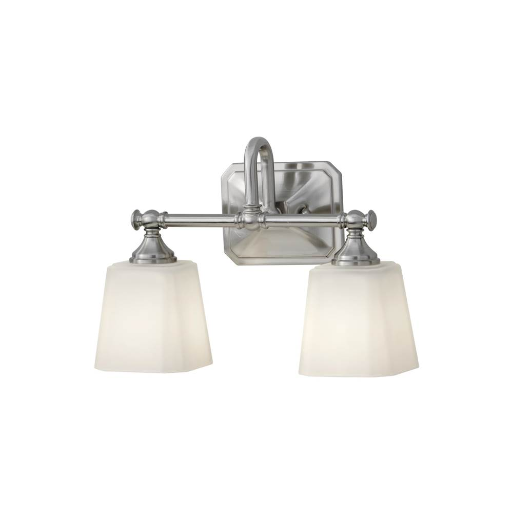 Feiss Lighting Two Light Vanity Bathroom Lights item VS19702-BS
