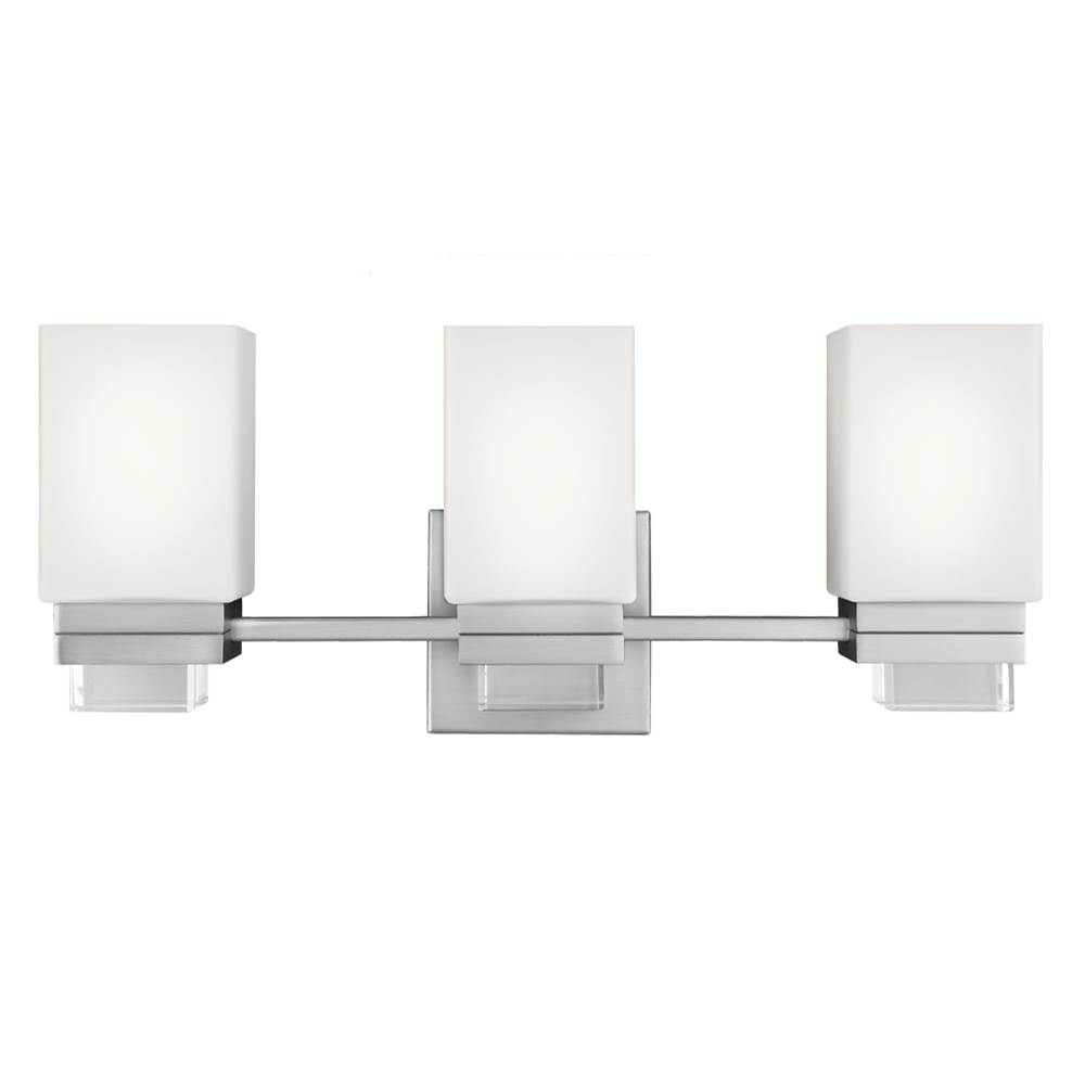 Feiss Lighting Three Light Vanity Bathroom Lights item VS20603SN