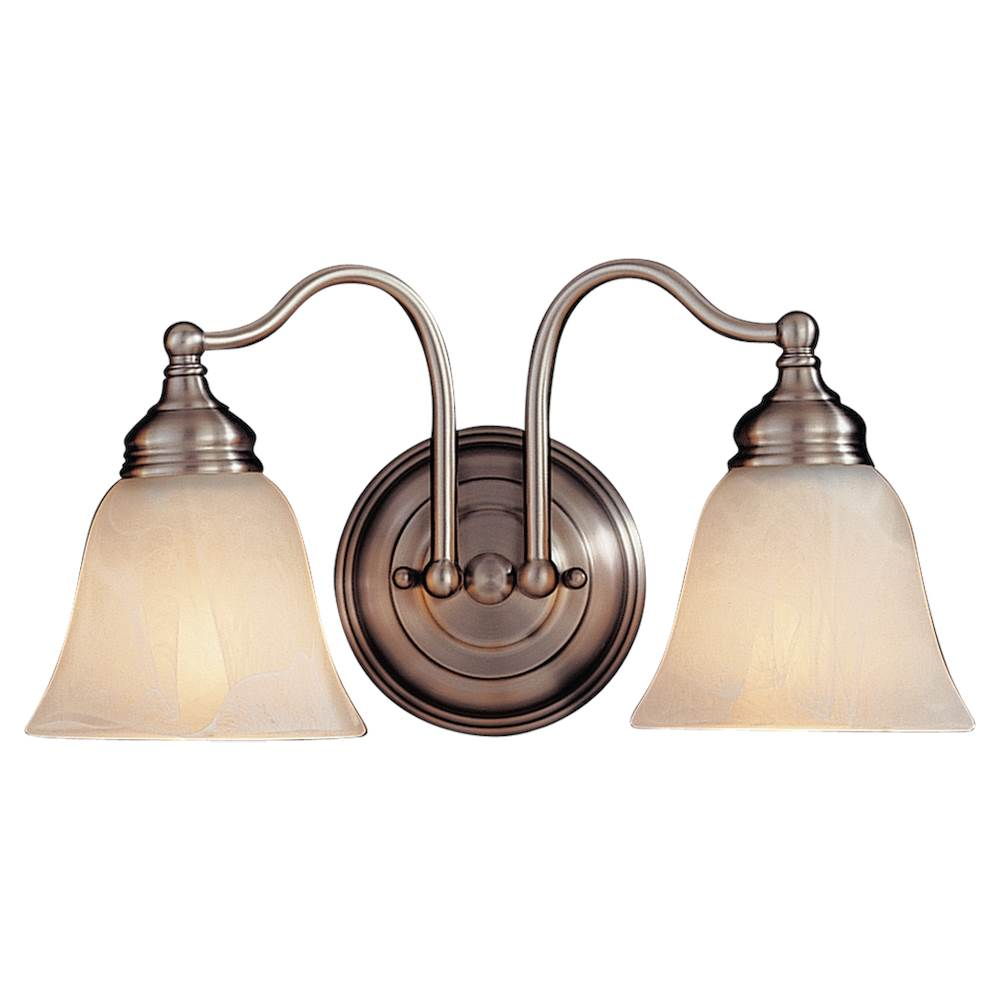 Feiss Lighting Two Light Vanity Bathroom Lights item VS6702-PW