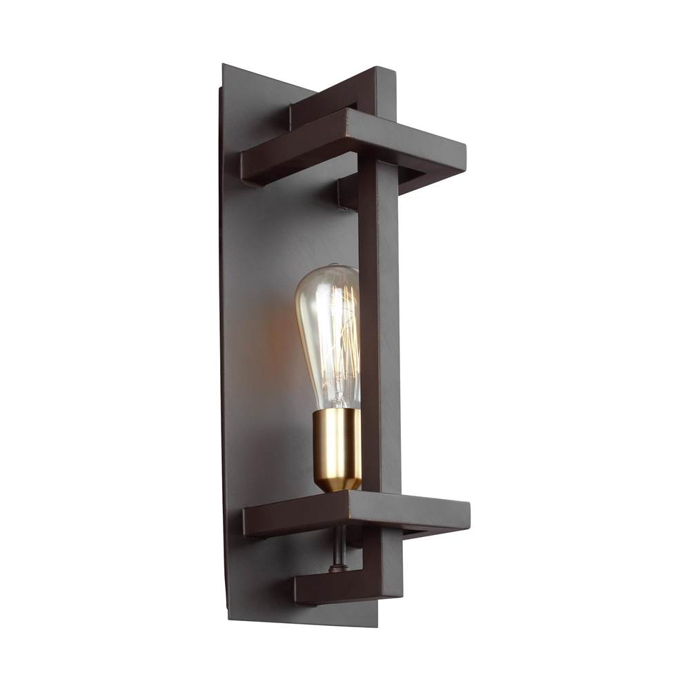 Feiss Lighting WB1826NWB at Kitchens and Baths by Briggs Bath ... on kitchen in a brick wall background, kitchen ideas with red brick, kitchen brick used in primary colors, kitchen designs with brick walls,
