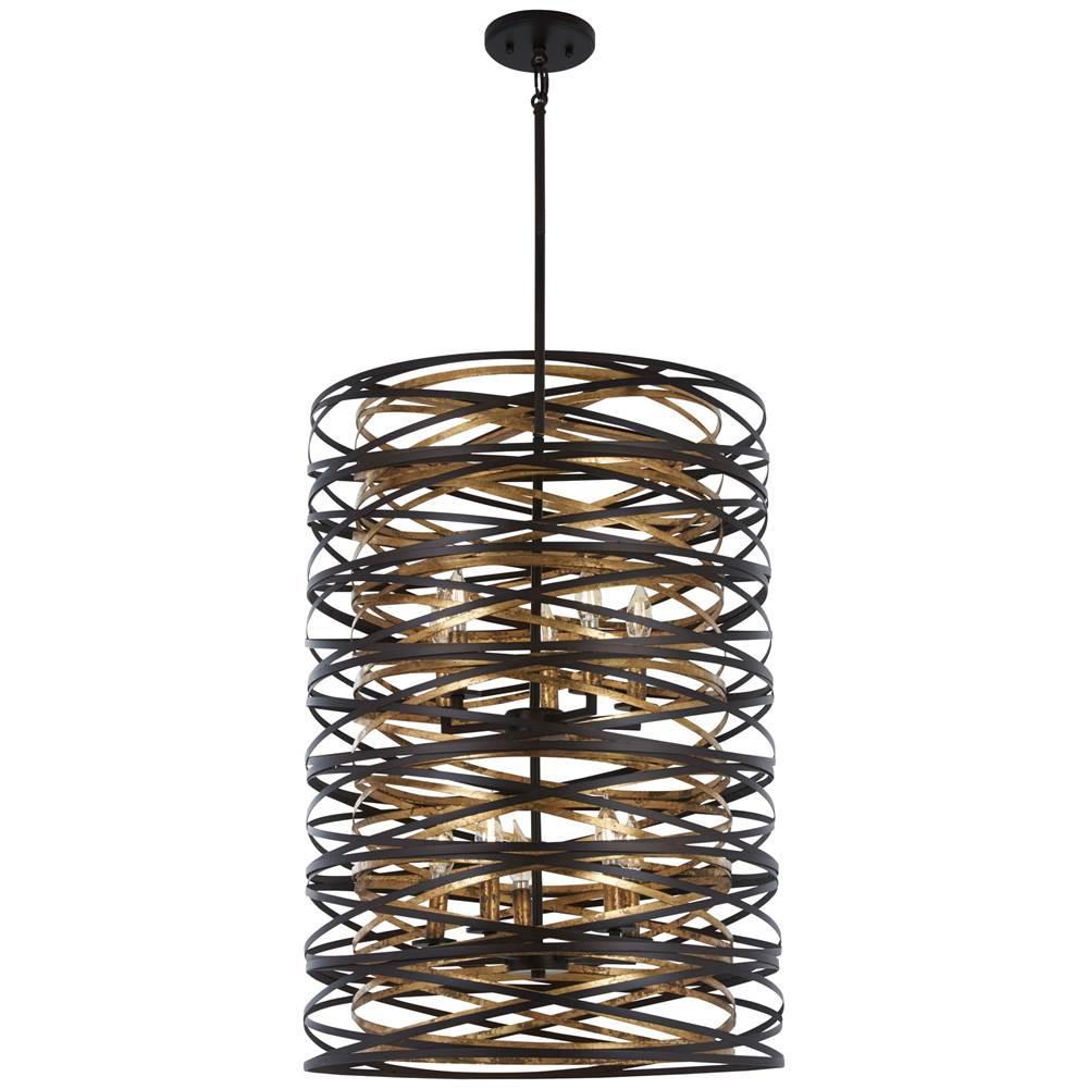Minka Lavery Atterbury 1 Light Mini Pendant Deep Flax Bronze 4231-288