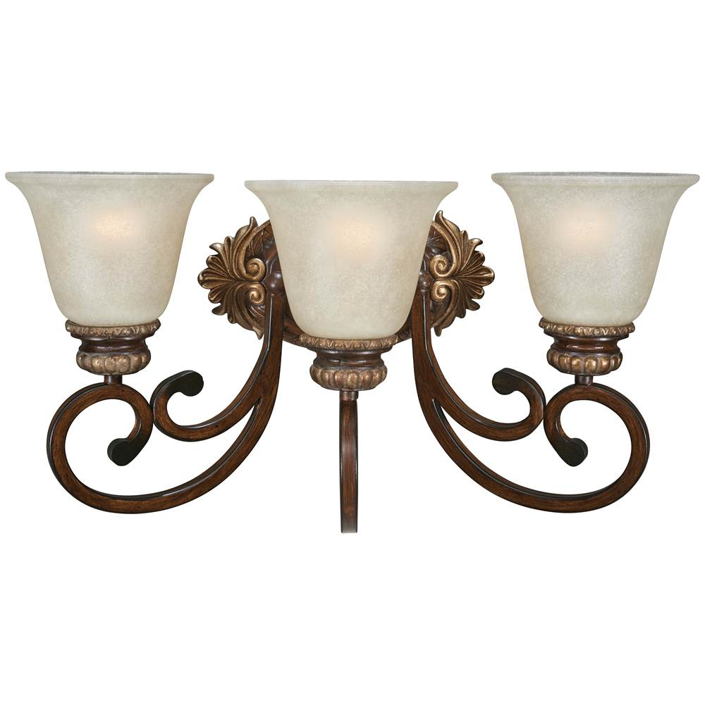 Minka-Lavery Three Light Vanity Bathroom Lights item 5943-126