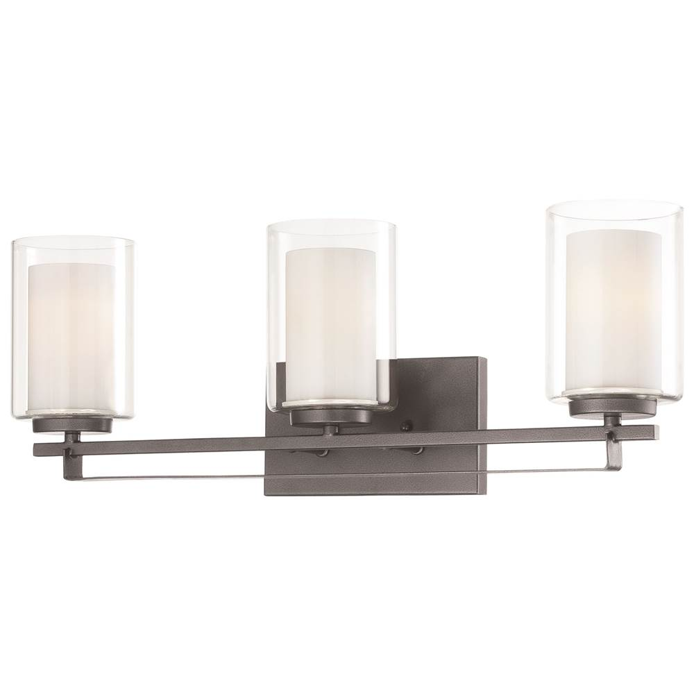 Minka-Lavery Three Light Vanity Bathroom Lights item 6103-172