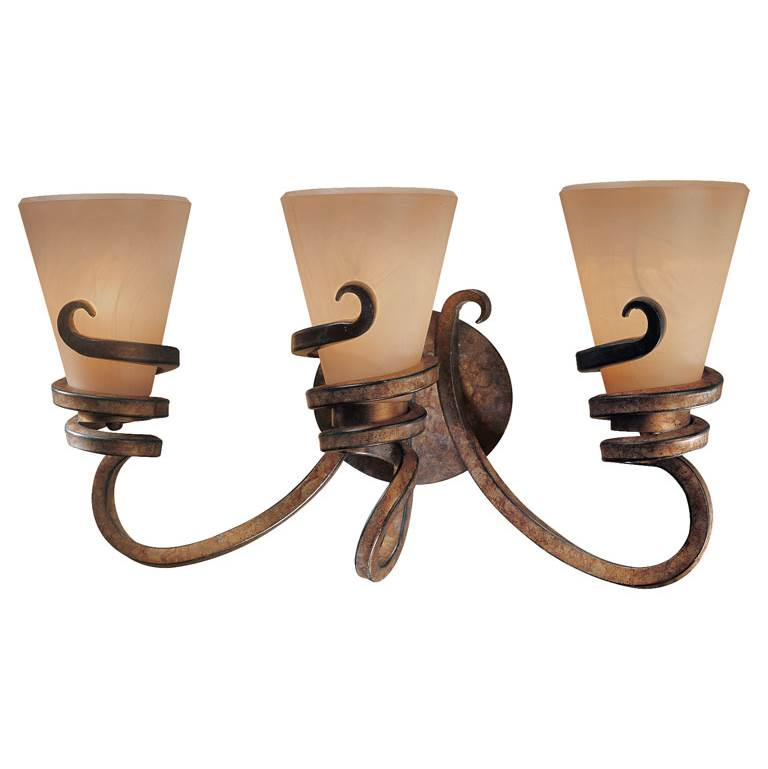 Minka-Lavery Three Light Vanity Bathroom Lights item 6763-211