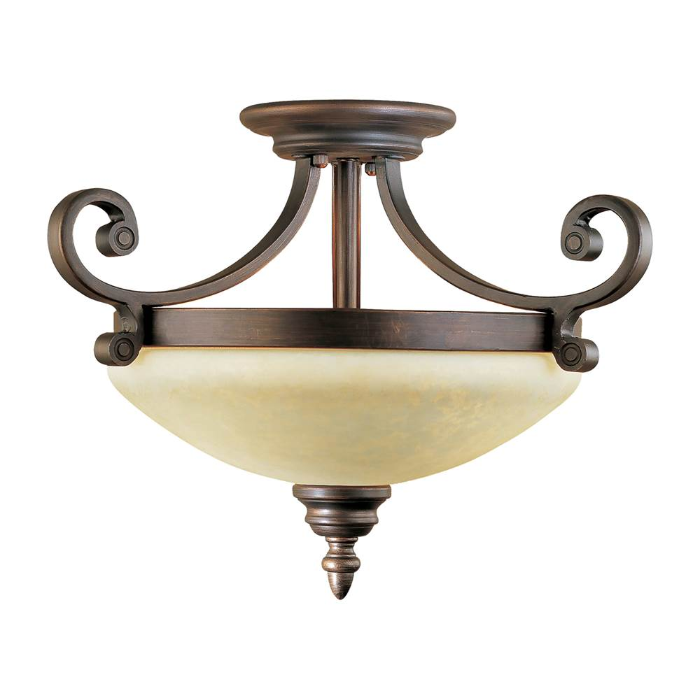 Millennium Lighting Semi Flush Ceiling Lights item 1212-RBZ