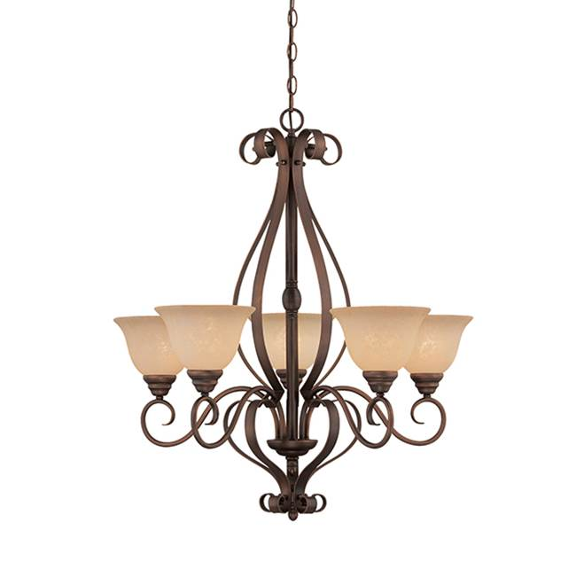 Millennium Lighting Single Tier Chandeliers item 1255-RBZ