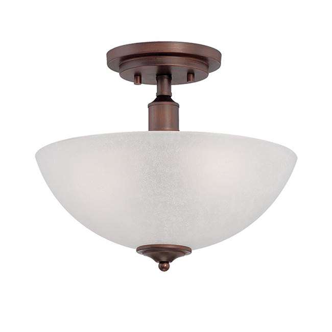 Millennium Lighting Semi Flush Ceiling Lights item 3202-RBZ