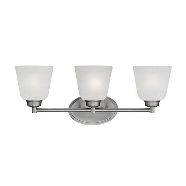 Millennium Lighting Three Light Vanity Bathroom Lights item 3223-BPW